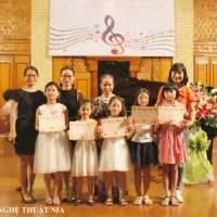 Biểu Diễn Piano Tại Nhạc Viện Hà Nội Tháng 8/2018